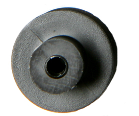12mm Diameter Pulley with 2mm Bore Pk10 - Leren