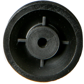 18mm Diameter Pulley with 2mm Bore Pk10 - Leren