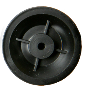 25mm Diameter Pulley with 2mm Bore Pk10 - Leren