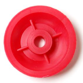 25mm Diameter Pulleys with 4mm Bore Pk10 - Leren