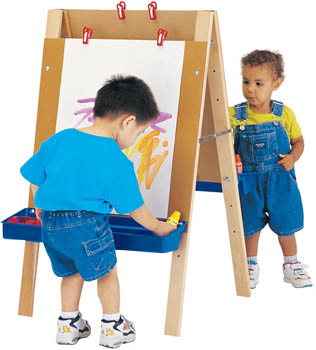 Jonti Toddler Adjustable Easel - Leren