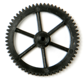 60 Tooth Gear with 2mm Bore Pk10 - Leren