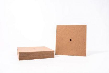 Clock Faces - Square Pack of 10 - Leren