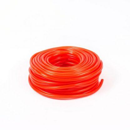 6mm Tubing Red 30m - Leren