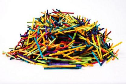 Coloured Matchsticks Pack of 2000 - Leren