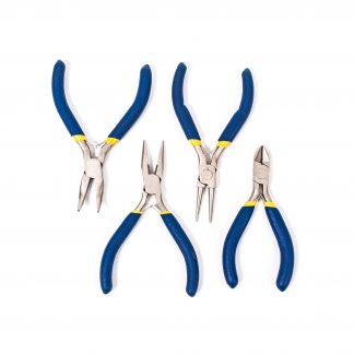 Mini Pliers Set of 4 - Leren