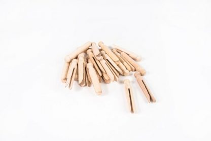 Dolly Pegs Pack of 24 - Leren