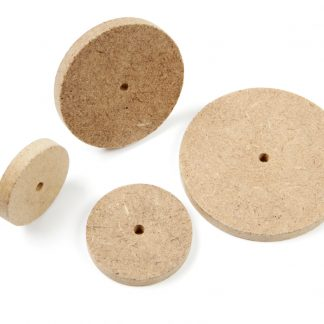 MDF Wheels 40mm Pack 100 - Leren
