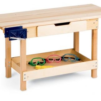 Jonti-Craft Workbench With Draw - Leren