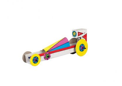 Techcard Dragster - Leren