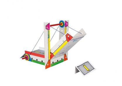 Techcard Draw Bridge - Leren