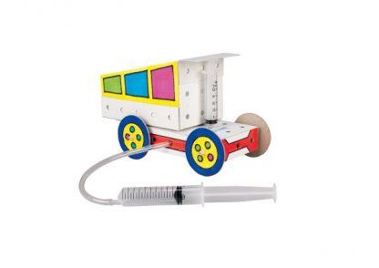 Techcard Tipper Truck - Leren