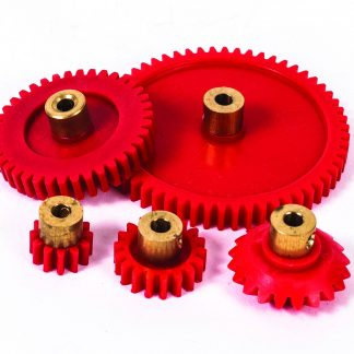 Brass Hub Gear 18 Tooth Pack of 10 - Leren