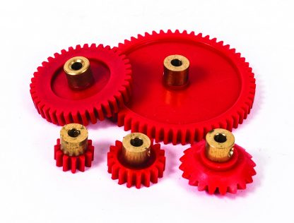 Brass Hub Gear 38 Tooth Pack of 10 - Leren