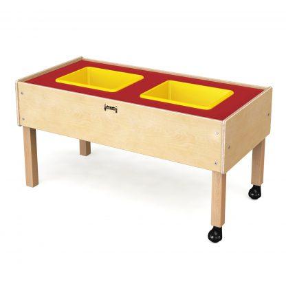 Jonti-Craft Toddler 2 Tub Sensory Table - Leren