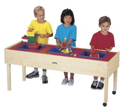 Jonti-Craft Toddler 3 Tub Sensory Table - Leren