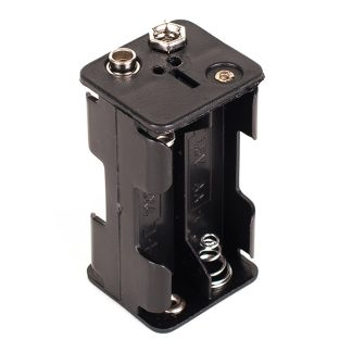 AA4 Battery Holder - Leren