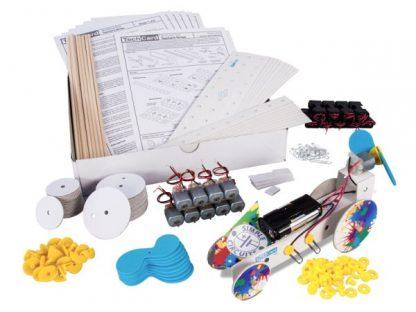 TechCard Propeller Car Workshop Pack - Leren