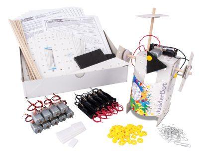 Leren Primary Technology TechCard Judderbot Workshop Pack - Leren