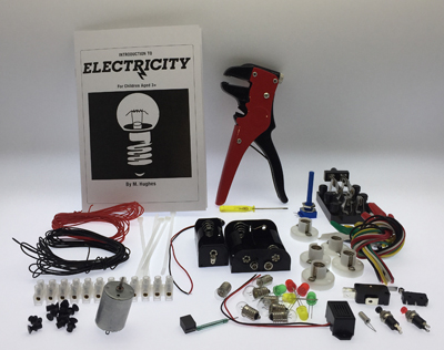 Home Schooling Electricity Design Technology/Science Kit - Leren